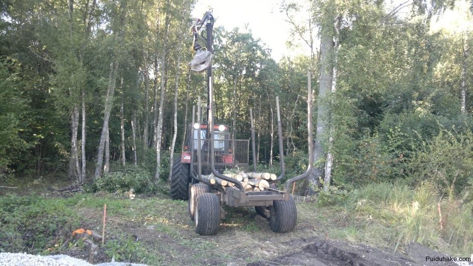 metsa väljavedu, veoteenus
