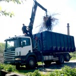 Greifertõstukiga veoautoga SCANIA