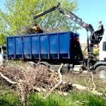 Puitjäätmete transport
